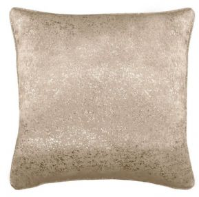 "LUXURY VELVET SILVER GLITTER SPARKLE NATURAL GOLD 18"" CUSHION COVER £6.99 EACH"